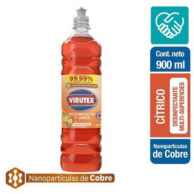 Limpiador desinfectante con nano partículas cobre cítrico 900 ml