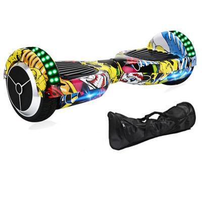 Hoverboard 6.5 bluetooth con bolso multicolor