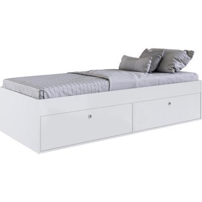 Cama individual Amore 192x82,2x42,4 cm blanca