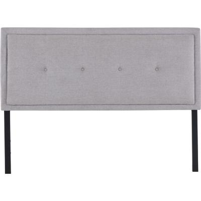 Respaldo 2 plazas 160x128x10 cm gris/grafito