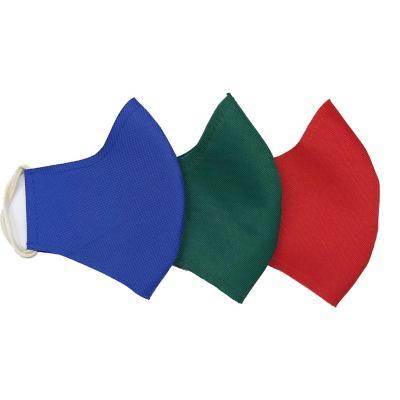 Mascarilla lavable pack 3 unidades colores