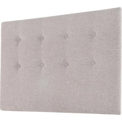 Respaldo 1,5 plazas 114x70x6 cm gris grafito