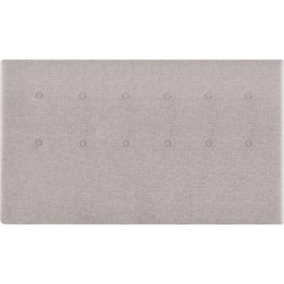 Respaldo 2 plazas 160x70x6 cm gris grafito