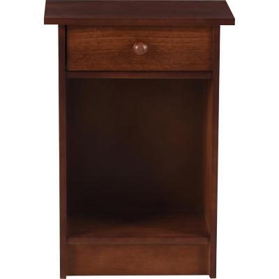Velador 1 cajón 45x63,5x30 cm