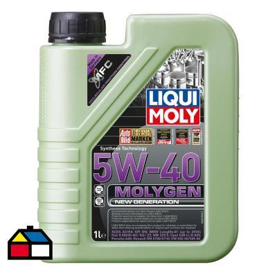 Aceite 5w40 1 litro molygen liquimoly
