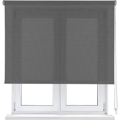 Cortina enrollable sun screen 105x250 cm gris