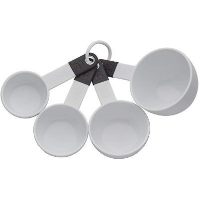 Set 4 Tazas Medidoras Blanco