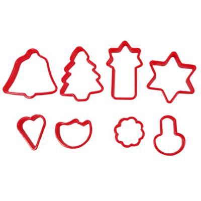 Corta galletas navidad 8 unidades