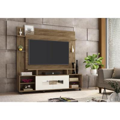 """Estante TV 60"""" 180x182,5x46,5 cm coral/blanco"""