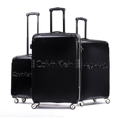 Set 3 maletas delancy 220 l negro hardside rígida
