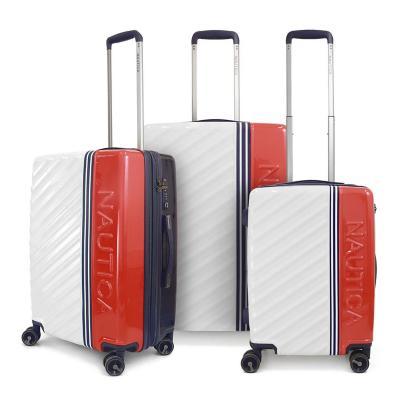 Set 3 maletas mondrian 200 l blanco hardside rígida