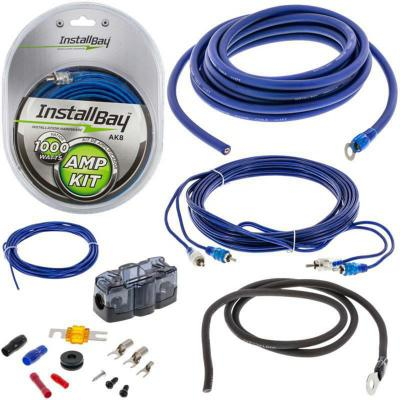 Kit de Cables para Amplificador 8 AWG 1000 W