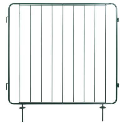 Reja modular metal 100x100 cm verde