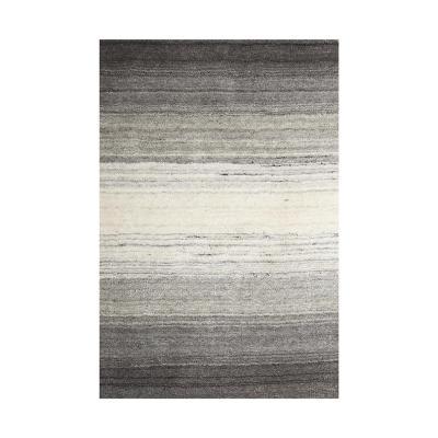 Alfombra handloom 70x240 cm degrade natural/gris