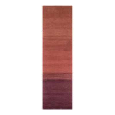 Alfombra censo 70x240 cm degrade rojo