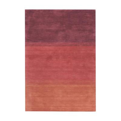 Alfombra censo 80x120 cm degrade rojo