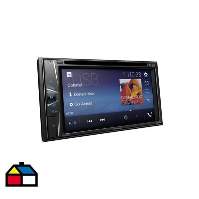 Radio auto Doble Din DVD  Bluetooth