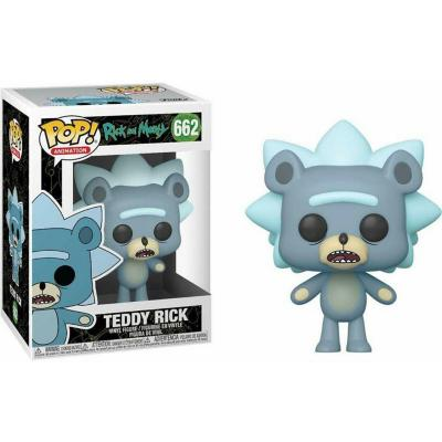 Figura Pop Animation Rick N Morty Teddy Rick W Chase