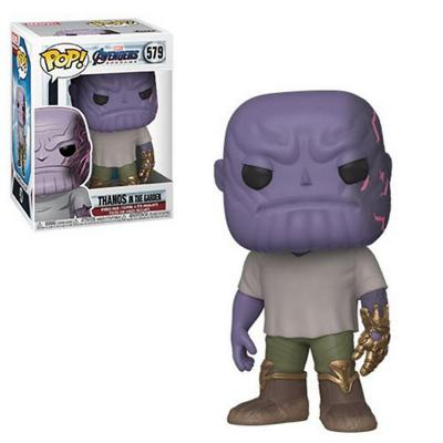 Figura Pop Marvel Endgame Casual Thanos W Gauntlet