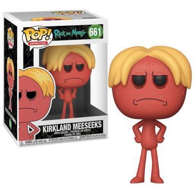 Figura Pop Animation Rick N Morty Kirkland Meeseeks