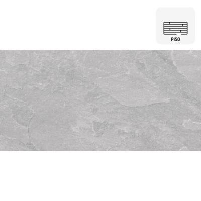 Porcelanato español gris 30x60 cm 1,26m2