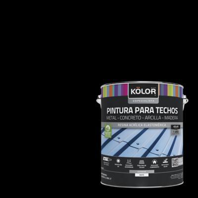 Pintura para techos negro 1 galón