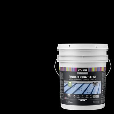 Pintura para techos negro 5 galones