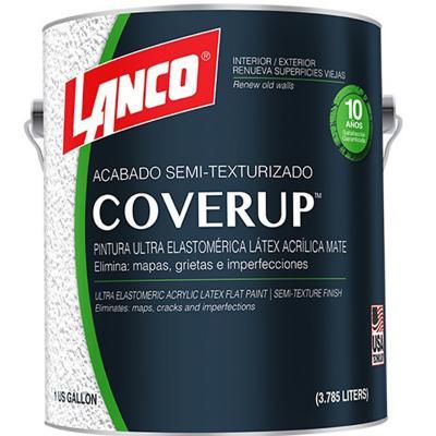 Esmalte texturizado cover-up base deep 1 galón
