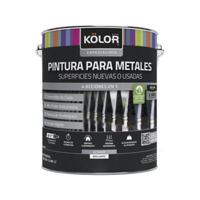 Pintura para metales base accent 1 galón