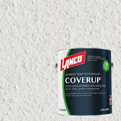 Esmalte texturizado cover-up blanco  b/pastel 1 galón
