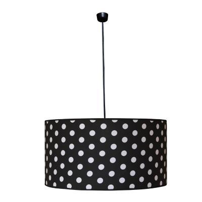 Lámpara colgante metal White Points negro 1 luz E27