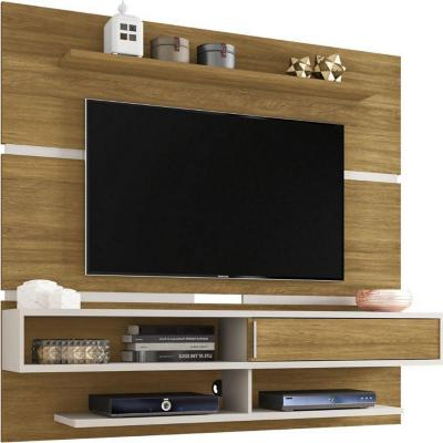 Panel rack TV 65¿ canela 167x180x34 cm