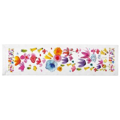 Camino de mesa Jardín de Flores 150x36 cm