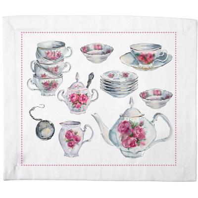 Set de 4 individuales Tazas de té
