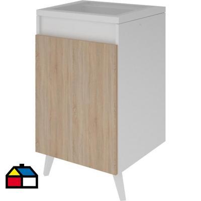Mueble lavadero melamina 15 mm 78x48,5x80cm