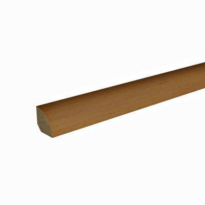 Pack 1/4 rodón MDF cerezo claro 50x40 mm 2,45 m - 5 unidades
