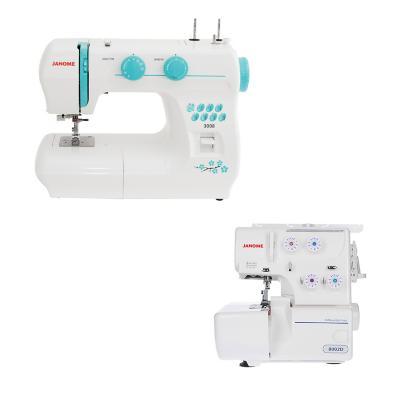 Combo Máquina de coser mecánica más Overlock
