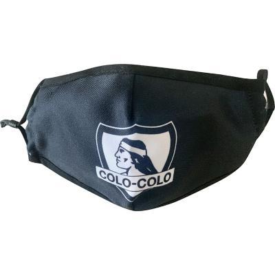 Mascarilla reutilizable Colo-Colo con filtro intercambiable M1