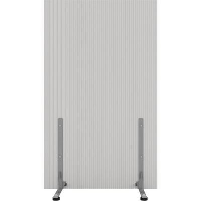 Biombo 105x200 cm gris c/tope