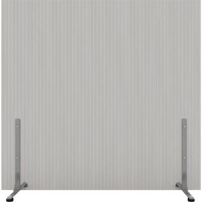 Biombo 210x200 cm gris c/tope