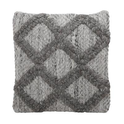 Cojín natural Granada gris 45x45 cm