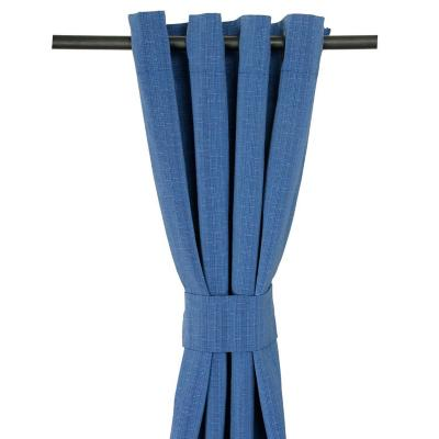 Cortina Tela Black Out 140x225 cm Sorica Azul