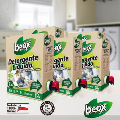 Detergente Líquido Ecobox 3 litros 5 unidades
