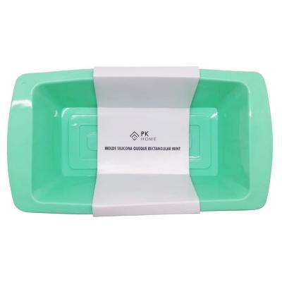 Molde silicona 100 ml rectangular