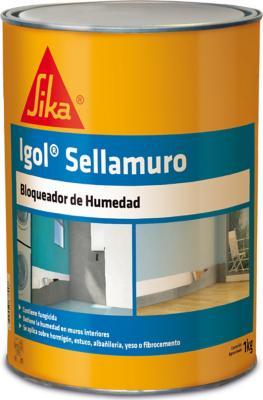 Pack 6 bloqueador de humedad igol sellamuro 1 kg