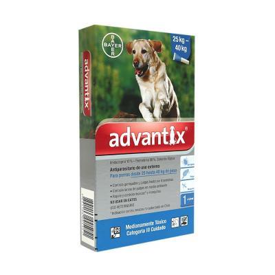 Advantix antiparasitario externo perros 25 a 40 k