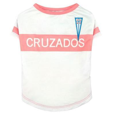 Camiseta oficial UC para perro Hembra Rosa Talla S