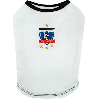 Camiseta oficial Colo Colo para perros Talla XXL