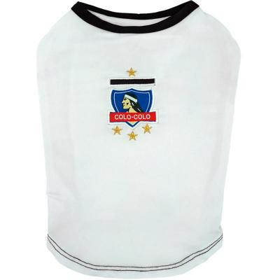 Camiseta oficial Colo Colo para perros Talla M