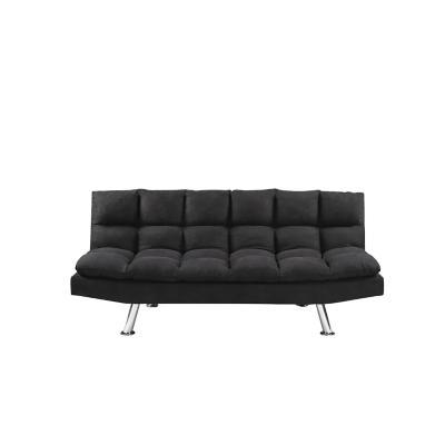 Futón 21x105x180 cm negro